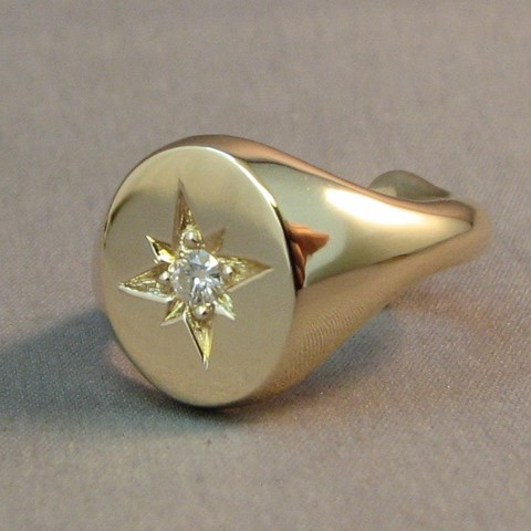 we make signet rings from scrap gold